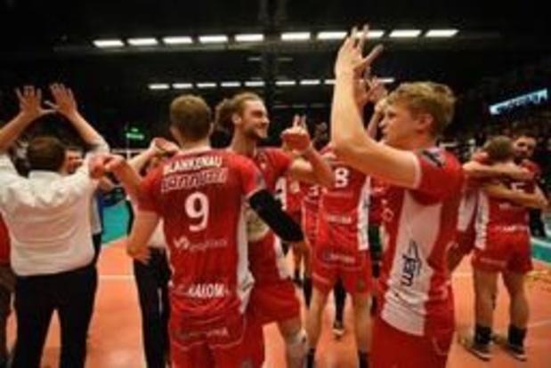 Euromillions Volley League - Maaseik wint met 1-3 bij Aalst en is bijna zeker van titelfinale