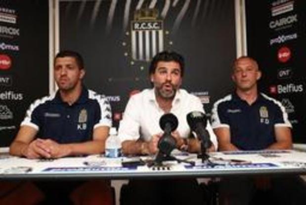 Jupiler Pro League - Frank Defays wil lange tijd assistent blijven bij Charleroi