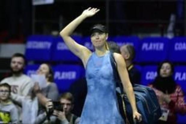 Maria Sharapova is na maanden blessureleed klaar voor comeback