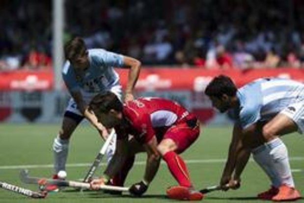 """Hockey Pro League - Pour Cédric Charlier, la Belgique """"se devait de jouer contre l'Argentine à fond"""""""