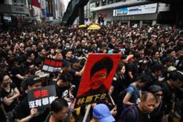 Hongkongse regeringsleider biedt haar excuses aan