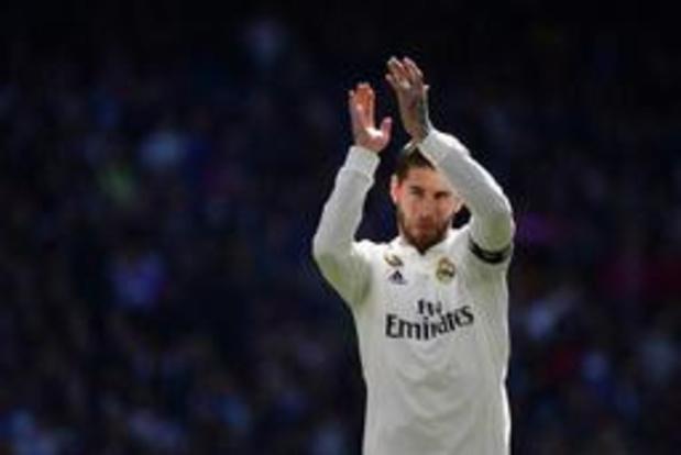 Primera Division - Sergio Ramos annonce qu'il reste au Real Madrid