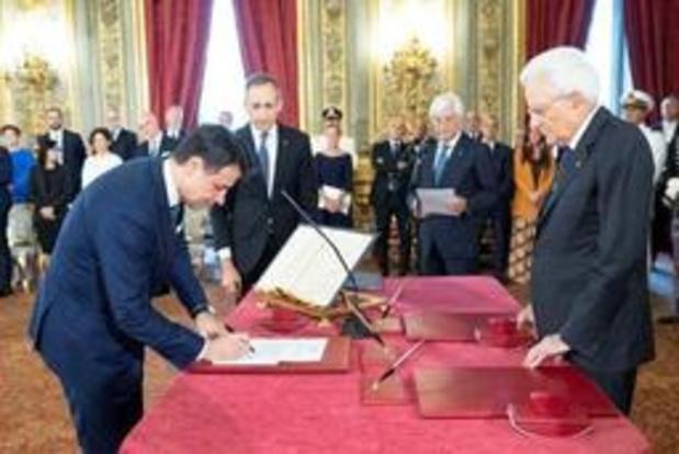 Nieuwe Italiaanse regering legt eed af