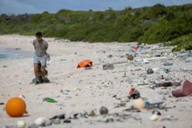 Grote hoeveelheid aangespoeld plastic bedreigt paradijselijke Henderson Eiland