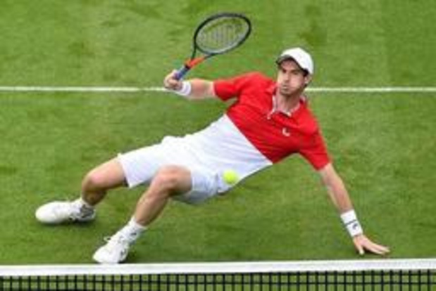 Wimbledon - Andy Murray speelt gemengd dubbel met Serena Williams