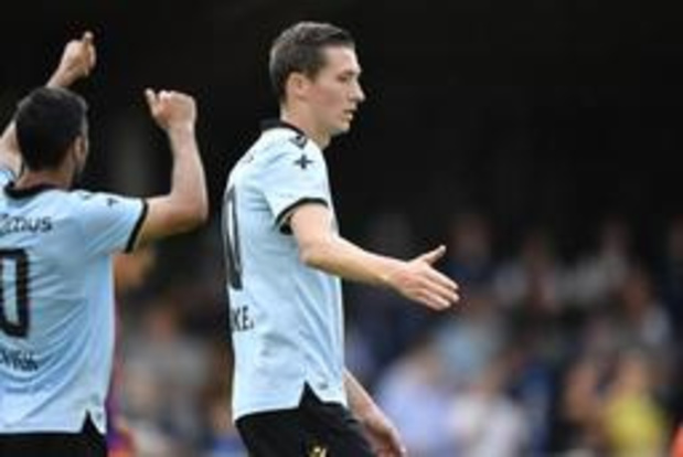 Jupiler Pro League - Club Brugge speelt 1-1 gelijk tegen Lokomotiva Zagreb