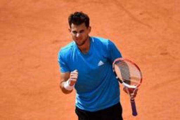 Dominic Thiem sort Djokovic et retrouve Rafael Nadal en finale, comme l'an dernier