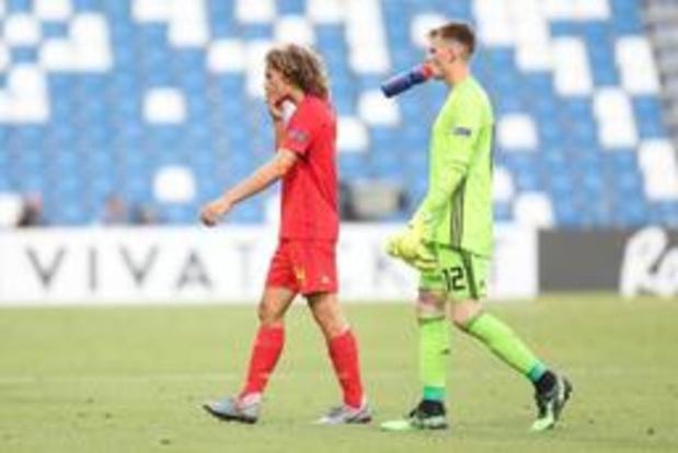 EK U21 (m) - Belgen behouden (uiterst) klein kansje op olympische play-off
