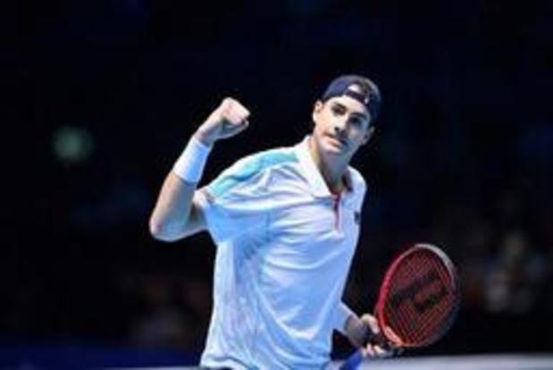 ATP Newport - John Isner na vierde zege alleen recordhouder