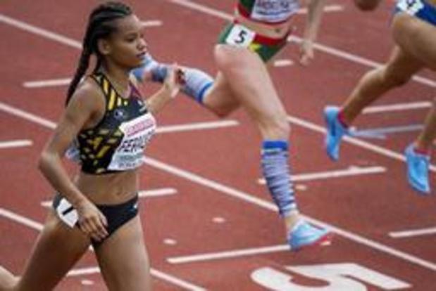 EK atletiek voor junioren - Lucie Ferauge pakt brons op de 200 meter
