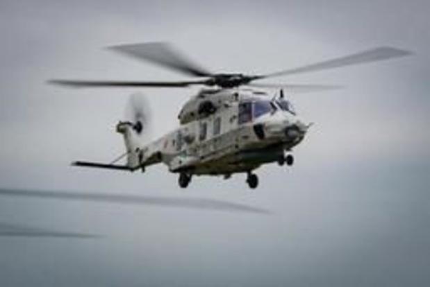 L'armée prépare le déménagement de ses hélicoptères de Coxyde à Ostende