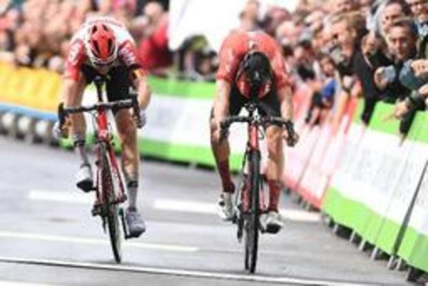 BinckBank Tour: Tim Wellens s'impose à Houffalize au terme de la 4e étape et endosse le maillot vert