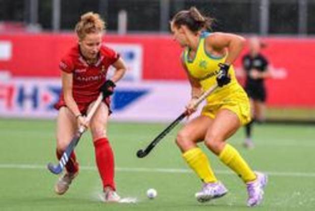 Les Red Panthers s'imposent 1-0 face à l'Australie et se maintiennent à la 5e place