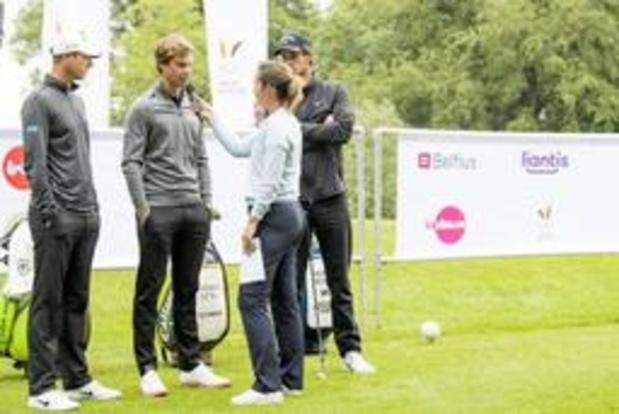 European Tour - Les trois Belges franchissent le cut à l'Open d'Ecosse