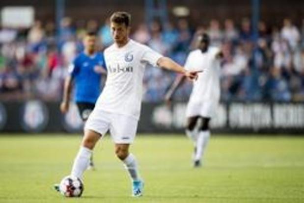 Ondermaats Gent gaat ondanks nederlaag door naar derde voorronde Europa League
