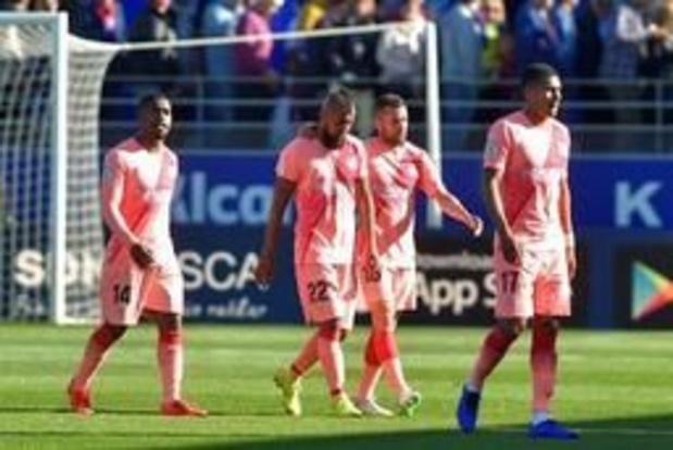 La Liga - B-elftal van FC Barcelona geraakt niet voorbij rode lantaarn