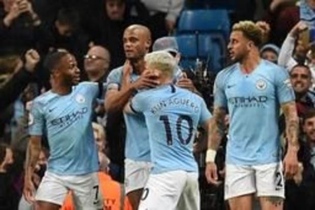 """Belgen in het buitenland - """"Niet aantal goals telt, wel wanneer je ze scoort"""", zegt matchwinnaar Kompany na pegel"""