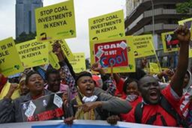 Kenya: manifestation contre la première centrale au charbon d'Afrique de l'Est