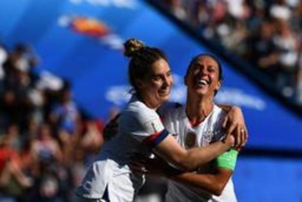 Mondial féminin - Les Etats-Unis battent le Chili et se qualifient
