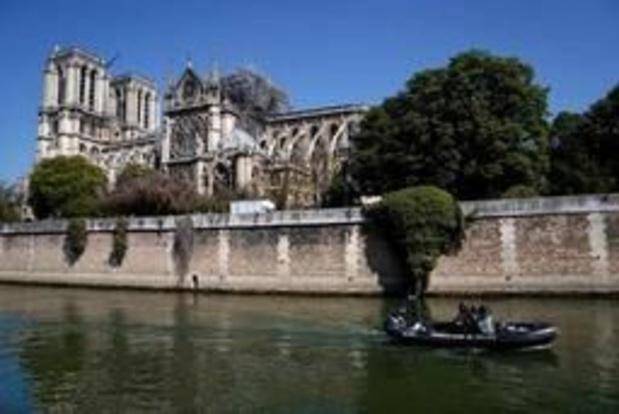 """""""Un grand parapluie"""" protégera Notre-Dame contre les intempéries"""