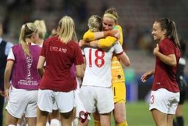 Mondial féminin - Carton plein pour l'Angleterre, victorieuse contre le Japon