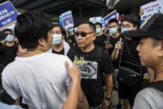 Rellen tussen voor- en tegenstanders van regering in Hongkong