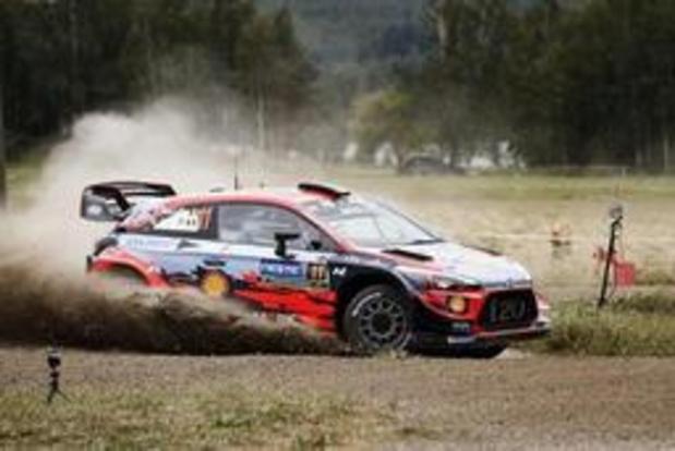 Thierry Neuville crève et perd 1:26, Ott Tänak vers la victoire au Rallye d'Allemagne