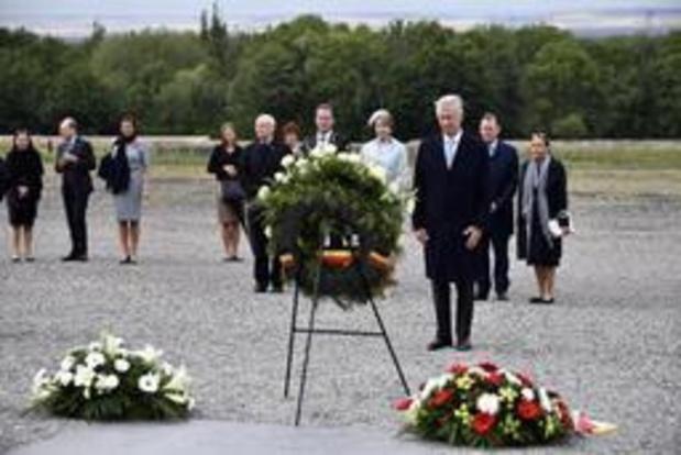 Les souverains sur les traces des 4.200 Belges détenus à Buchenwald pendant la guerre