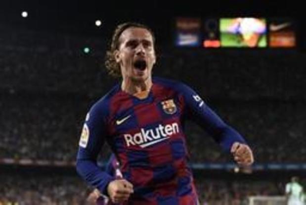 Primera Division - Le FC Barcelone, dans le sillage de Griezmann, empoche sa première victoire