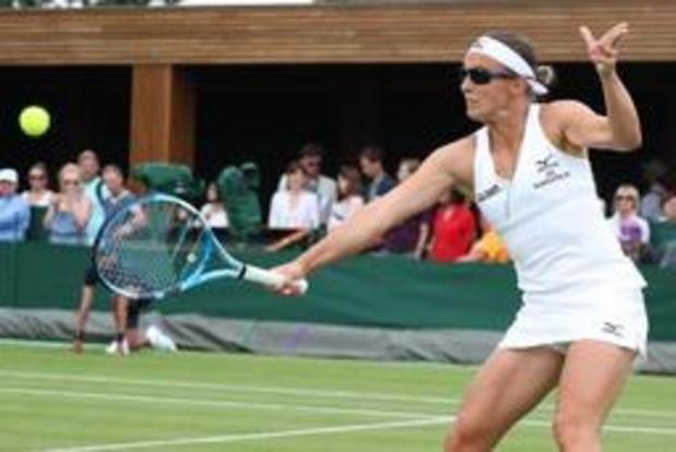 Kirsten Flipkens moet afdruipen in tweede ronde Wimbledon