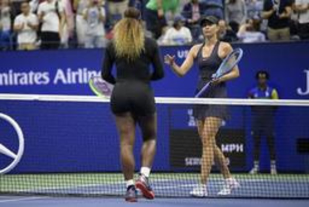 Le choc Serena Williams - Maria Sharapova n'a pas tenu ses promesses à l'US Open