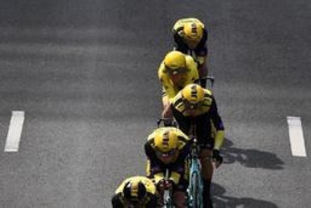 Tour de France: Jumbo-Visma, l'équipe du maillot jaune Mike Teunissen, domine le chrono par équipes