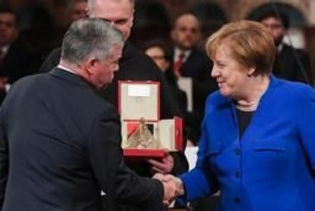Merkel vraagt om relativeringsvermogen bij Europeanen over aantal opgenomen vluchtelingen