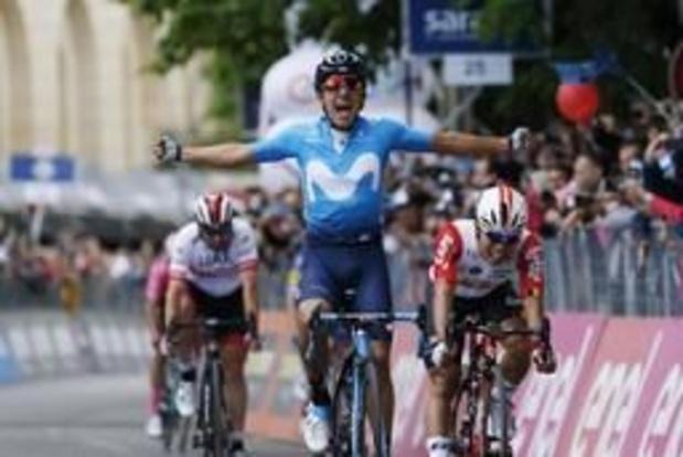 Tour d'Italie: Richard Carapaz (Movistar) gagne la 4e étape, Roglic reste en rose, Dumoulin grand battu