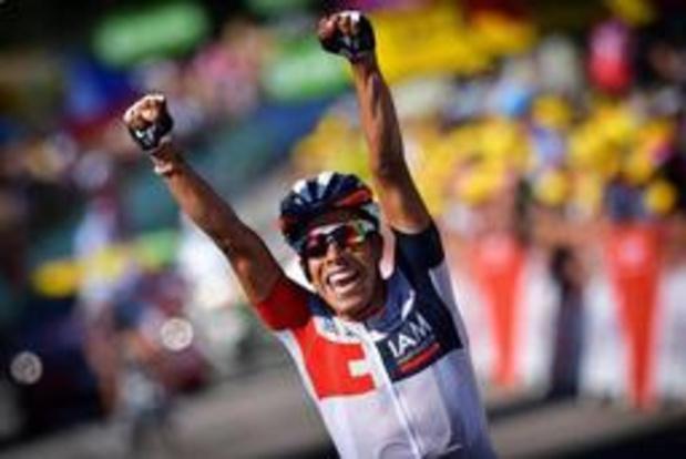 Le coureur cycliste colombien Jarlinson Pantano met un terme à sa carrière