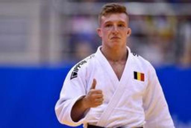 Jorre Verstraeten éliminé au troisième tour par le Géorgien Amiran Papinashvili en -60 kg