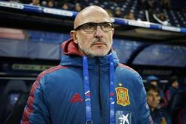 """Euro Espoirs 2019 - Le coach espagnol respecte la Belgique mais veut une victoire """"avec un maximum de buts"""""""