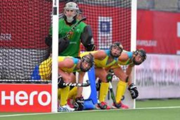 L'Australie première finaliste chez les dames