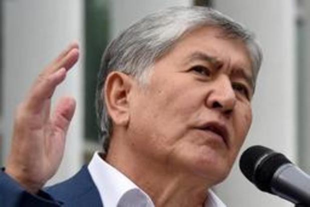 Speciale troepen vallen residentie Kirgizische ex-president Atambajev aan