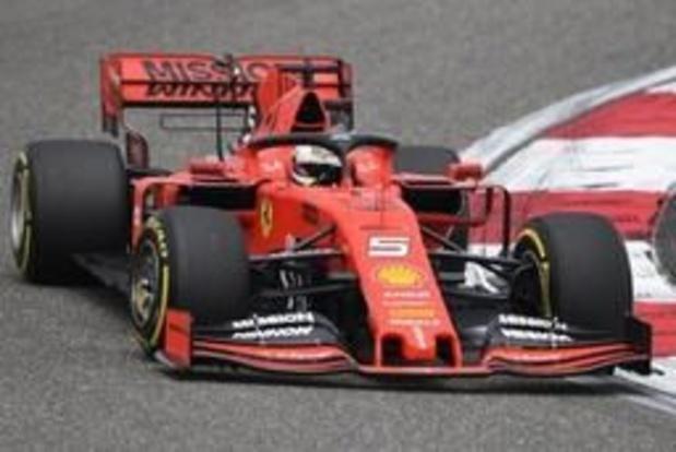 Vettel is de snelste tijdens eerste oefenritten Grote Prijs van China
