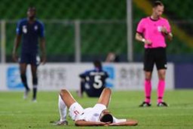EK U21 (m) - Engeland verliest opnieuw, België is uitgeschakeld als Frankrijk punt pakt tegen Kroatië
