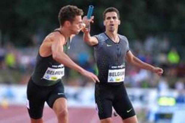 """Nuit de l'athlétisme - Jonathan Borlée: """"Nous faisons tout pour être en forme pour les prochains JO"""""""