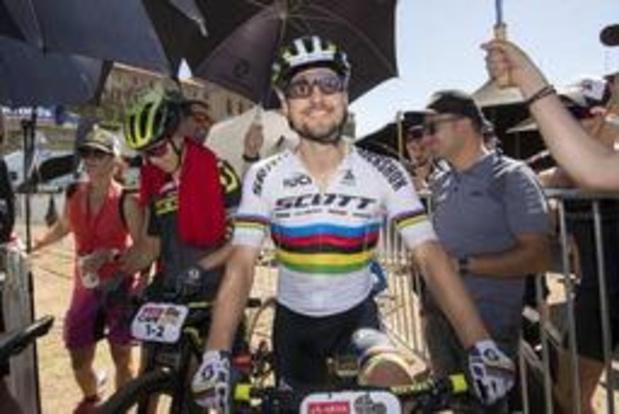 Coupe du monde de mountainbike - Nino Schurter s'impose aux Gets, Jens Schuermans 7e, Mathieu van der Poel 16e