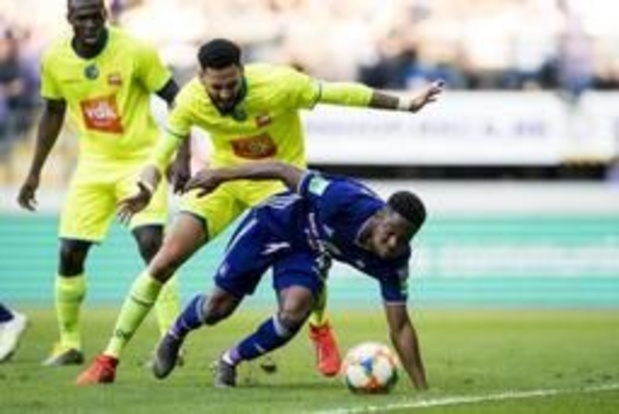 Jupiler Pro League - Anderlecht en Gent houden elkaar op 0-0