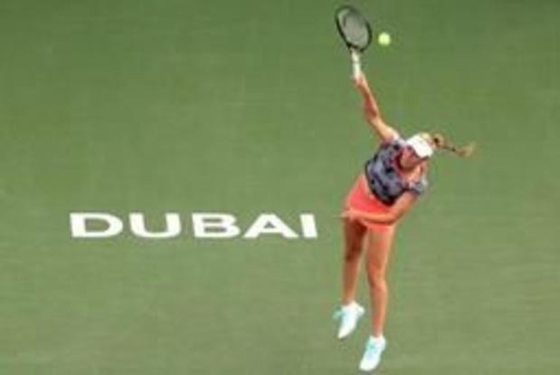 Elise Mertens toujours 17e au classement WTA