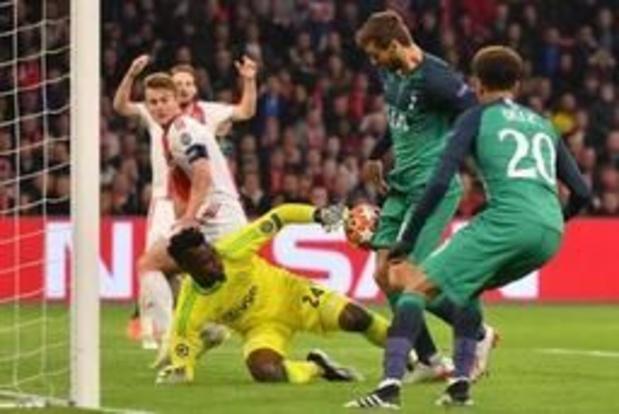Champions League - Tottenham houdt Ajax met doelpunt in slotseconden uit finale