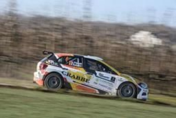 BK rally - Kris Princen pakt in Bocholt derde seizoenszege