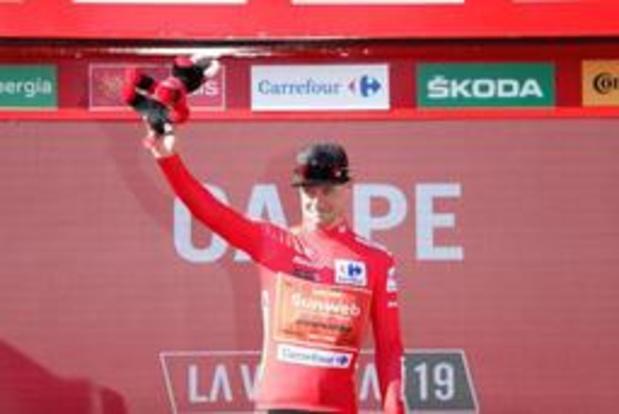 """Vuelta - Nicholas Roche neemt leiderstrui over: """"Eigenlijk mikte ik op de ritzege"""""""