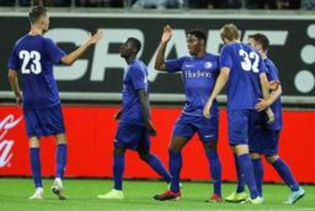 Gent - Cercle Brugge wordt een dag verlaat door Europese kwalificatie van Buffalo's