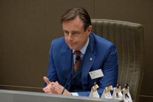 Formation flamande: Bart De Wever ne prendra pas de décision ce vendredi